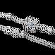 Dây cổ bạc đính đá PNJSilver Frozen ZTXMW000007