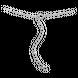 Lắc tay bạc đính ngọc trai PNJSilver Friendzone Breaker hình trái tim PFXMK000002