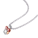 Mặt dây chuyền trẻ em bạc đính đá PNJSilver Minnie Alone ZT00H000001
