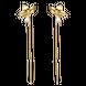 Bông tai Vàng 10K đính đá ECZ Swarovski PNJ XM00Y001462