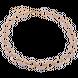 Dây cổ Vàng Ý 18K PNJ khoen tròn lồng ghép bi 0000Z060068