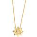 Dây cổ Vàng 10K đính đá ECZ Swarovski PNJ XMXMY000275