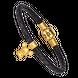 Lắc tay charm Vàng 24K PNJ hình Kim Thử dây màu đen 0000Y000876
