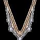 Dây cổ bạc PNJSilver Aura NHXMC000001