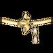 Lắc tay Vàng 10K đính đá ECZ Swarovski PNJ XM00Y000362