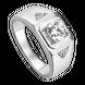 Nhẫn nam bạc đính đá PNJSilver XMXMK000170