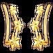 Bông tai Vàng Ý 18K PNJ 0000Y000297