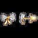 Bông tai Vàng 10K đính đá ECZ Swarovski PNJ XMXMC000041
