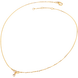 Dây cổ Vàng 10K đính đá ECZ Swarovski PNJ Mystery XMXMY000038