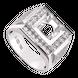 Vỏ nhẫn nam Kim cương Vàng trắng 18K PNJ 00DDW002045