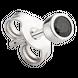 Bông tai nam bạc đính đá màu đen PNJSilver ZT00K000052