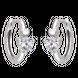 Bông tai trẻ em bạc đính đá PNJSilver XM00K000115