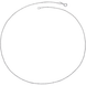 Dây chuyền bạc PNJSilver kiểu dây bi 0000K000012