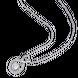 Mặt dây chuyền bạc đính đá PNJSilver XMXMK000166