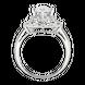 Nhẫn Vàng trắng Ý 18K đính đá CZ PNJ XMXMW000672