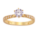 Nhẫn Vàng 18K đính đá CZ PNJ XMXMY001708