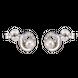Bông tai bạc đính ngọc trai PNJSilver PFXMK000012