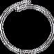 Dây chuyền bạc PNJSilver dây dập chữ S xoắn đoạn 0000K000041