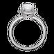 Nhẫn bạc đính đá PNJSilver XMXMK000152