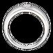 Nhẫn cưới nam Bạch kim đính Kim cương PNJ DDDDW000020