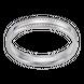 Nhẫn cưới Vàng trắng 10K PNJ Sánh Duyên 0000W000056