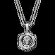 Mặt dây chuyền bạc đính đá PNJSilver XM00K000032