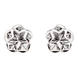 Bông tai Vàng trắng Ý 18K PNJ 0000W060477