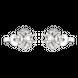 Vỏ bông tai Kim cương Vàng trắng 18K PNJ 00DDW060484