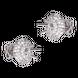 Vỏ bông tai Kim cương Vàng trắng 18K PNJ 00DDW060486