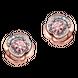 Bông tai Vàng 10K đính đá Synthetic Disney|PNJ Beauty & The Beast ZTXMH000001