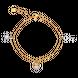 Lắc tay Vàng 10K đính đá ECZ Swarovski Disney PNJ Cinderella XMXMC000024