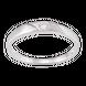 Nhẫn cưới Vàng trắng 10K đính đá ECZ Swarovski PNJ XM00W000068