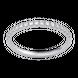Nhẫn Vàng trắng 10K đính đá ECZ Swarovski PNJ XM00W000105