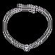 Dây cổ Kim Cương PNJ First Diamond Vàng trắng 14K