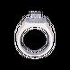 Nhẫn Nam Kim cương Vàng 18K PNJ DDDDC000502