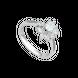 Nhẫn Kim cương Vàng trắng 14K PNJ DDDDW005085