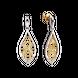 Bông tai Vàng 10K đính đá ECZ Swarovski PNJ XMXMC060001