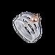 Nhẫn bạc đính đá Disney PNJ Snow White & the Seven Dwarfs ZTZTH000003
