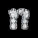 Bông tai Kim cương Vàng trắng 14K PNJ DDDDW001700