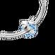 Hạt Charm xỏ DIY đính đá Sythentic PNJSilver ZTZTA060001