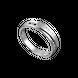 Nhẫn nam bạc PNJSilver chữ Forever 0000K000040