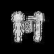 Bông tai Kim cương Vàng trắng 14K PNJ DDDDW001701