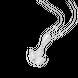 Mặt dây chuyền Vàng trắng 10K đính đá ECZ Swarovski PNJ XMXMW001596