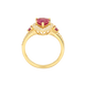 Nhẫn Vàng 18K đính đá Ruby PNJ RBMXY000025 2