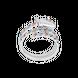 Nhẫn bạc đính đá Style by PNJ Spring Love ZTMXW000008