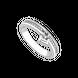Nhẫn Kim cương vàng trắng 14K PNJ DD00W002774