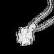 Mặt dây chuyền bạc đính đá PNJSilver cỏ bốn lá XMXMK000067 1