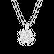 Mặt dây chuyền bạc đính đá PNJSilver cỏ bốn lá XMXMK000067