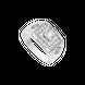 Nhẫn nam Vàng trắng 10K đính đá ECZ Swarovski PNJ XMXMW000108