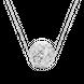Mặt dây chuyền Vàng trắng Ý 18K PNJ 0000W000374